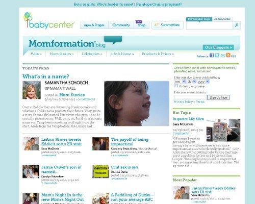 BabyCenter Blogs