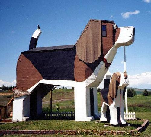 Dog Bark Park Inn in Idaho