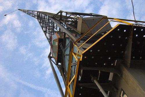 Harbour Crane in Amsterdam