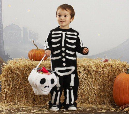 Pottery Barn Kids Skeleton Costume
