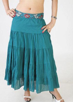 Jewel Waisted Skirt