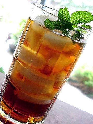 Fresh Mint Iced Tea
