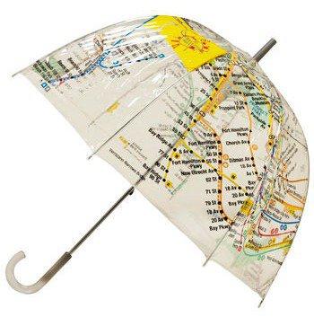 Raindrops on Railways Umbrella