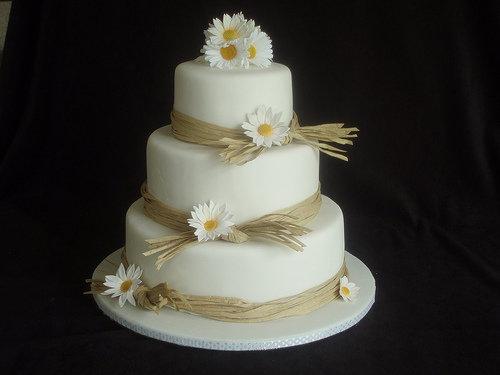 Mini Chocolate Wedding Cakes