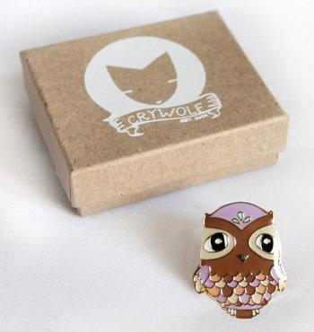 Hootie Owl Pin