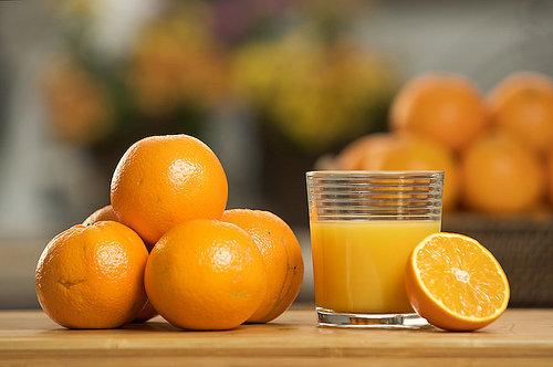 Almonds and Orange Juice