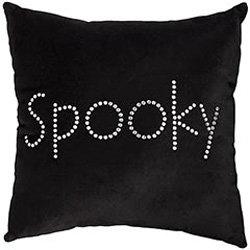 pier 1 spooky halloween pillow