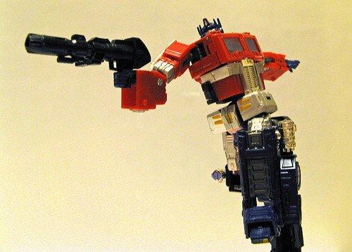 Optimus Prime: Transformers