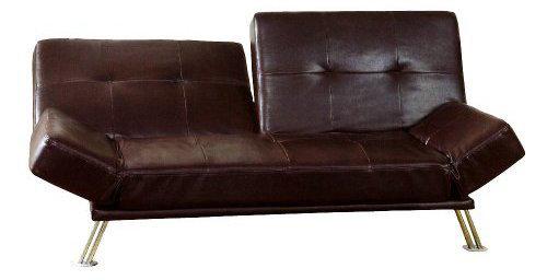 Chocolate Convertible Sofa Bed