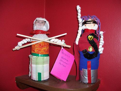 Plastic Bottle Dolls