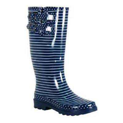 Chooka Classy Strip Rain Boots