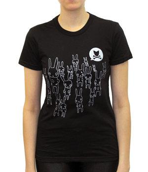 CryWolf Zombie Bunnies Tshirt
