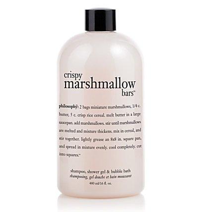 Philosophy Crispy Marshmallow Bars Shampoo, Shower Gel and Bubble Bath