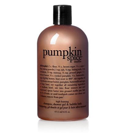 Philosophy Pumpkin Spice Muffin Shower Gel