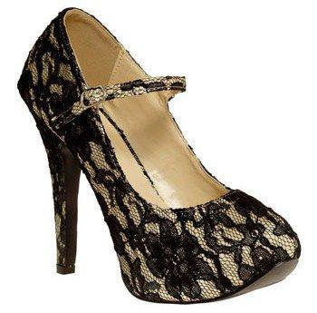 Amazing Lace Heel
