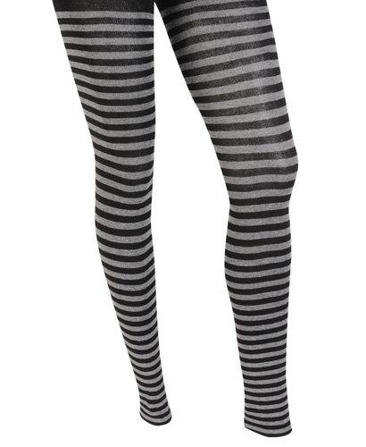 Forever21 Striped Knit Leggings