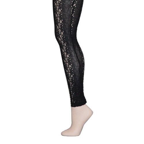 Lace Leggings in Black