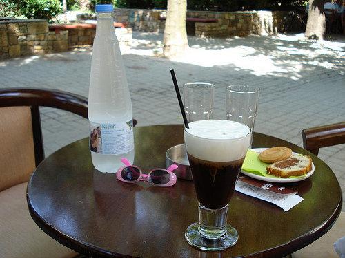 Sun, Sea and an Icy Freddo Espresso