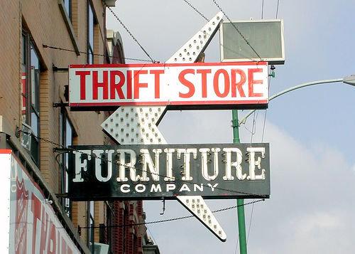 Shop in Thrift Stores