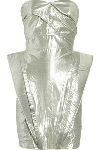 Rachel Gilbert Strapless Dress