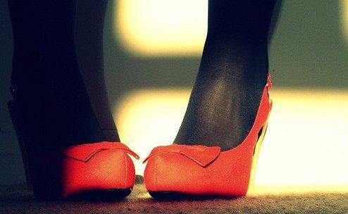 Wearing …