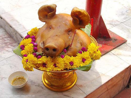 Mmmmm….pig's Head