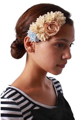 Flower Cluster Head Wrap