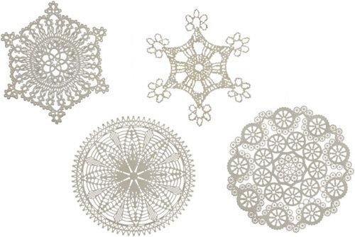 Filigree Snowflakes