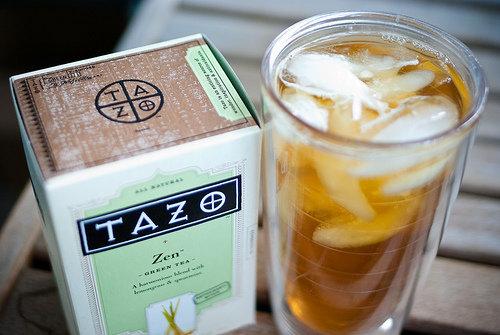 1 green tea