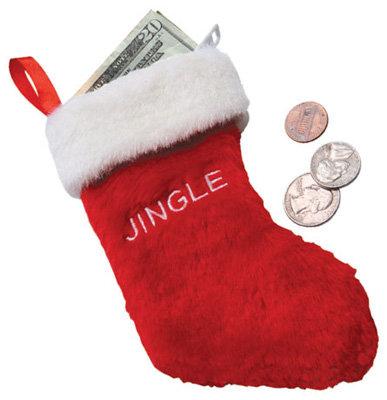 Christmas Stocking Coin Purse