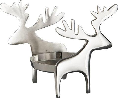 Crate & Barrel Reindeer Candleholder