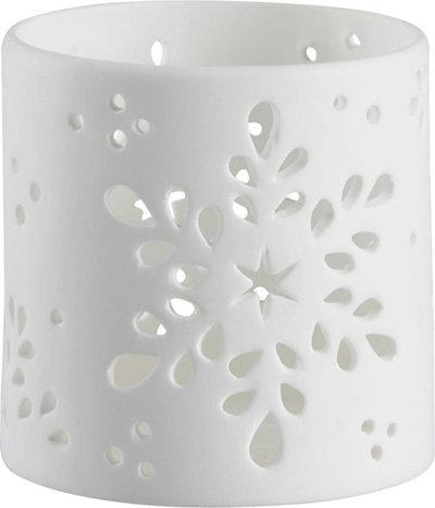 Crate & Barrel Snowflake Candleholder