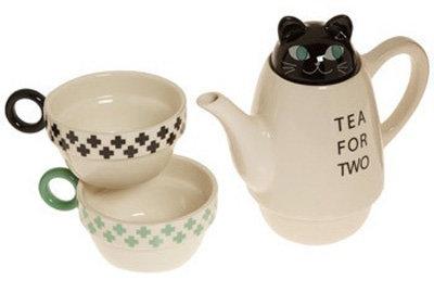 Thirsty Neko Tea Set