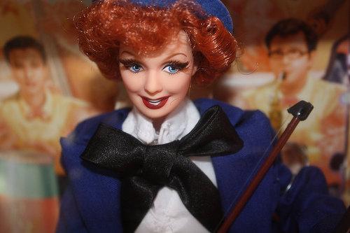 I Love Lucy Barbies