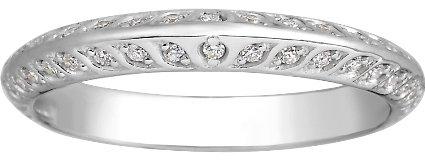 Brilliant Earth Platinum Luxe Garland Diamond Ring