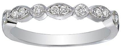 Brilliant Earth Platinum Tiara Diamond Ring