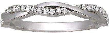 Brilliant Earth Platinum Twisted Vine Diamond Ring