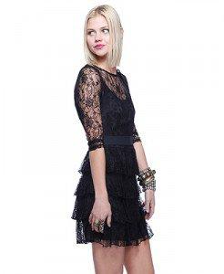 Lace Tier Dress