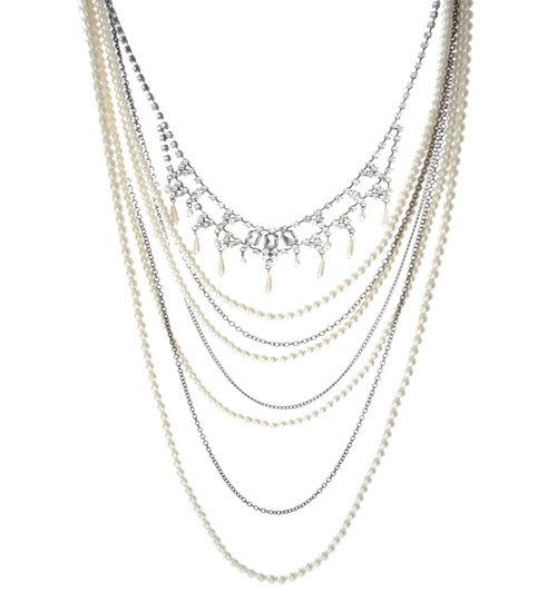 Oasis Multi Row Victoriana Necklace
