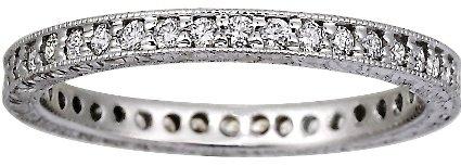 Beyond Eternity Pavé Diamond Ring