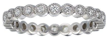 Solstice Eternity Diamond Ring