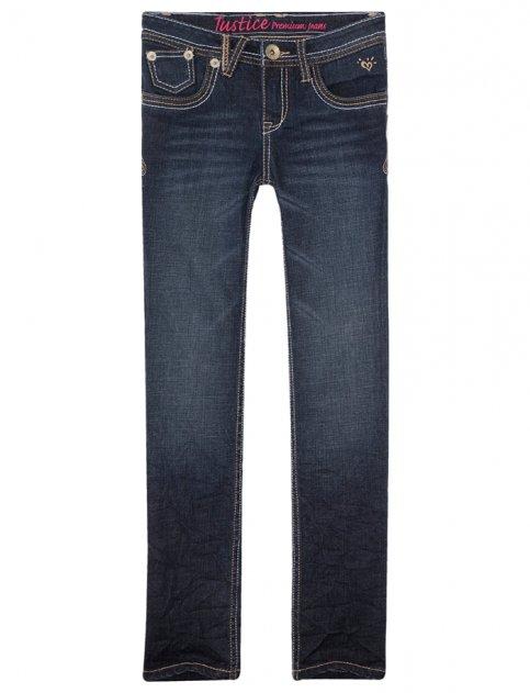 Justice for Girls Heavy Stitch Skinny Jean