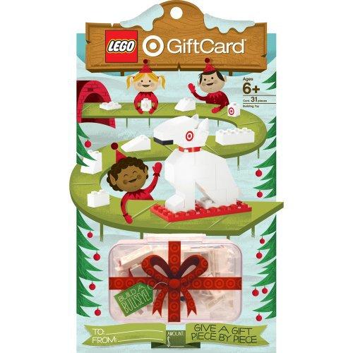 Target LEGO Dog Gift Card
