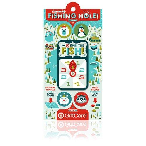 Target Winter Fishing Hole Gift Card