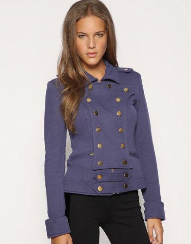 One Teaspoon Cavalry Fleece Antique Style Button Jacket
