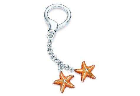 Tiffany Starfish Key Ring