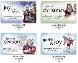 Philosophy E-Gift Card - 8 Gift Cards I\'d Love for Christmas ... …