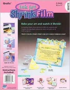 Grafix Shrink Film Inkjet