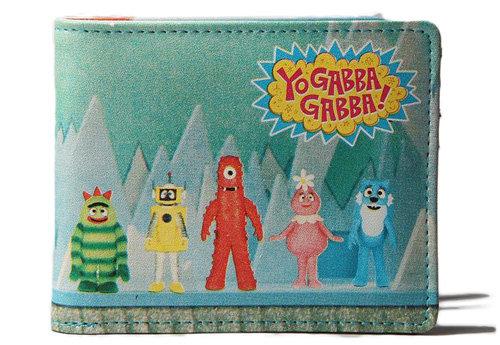 Toddland Yo Gabba Gabba Cast Wallet