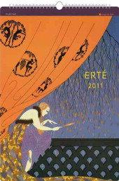 Erte Studio 2011 Calendar